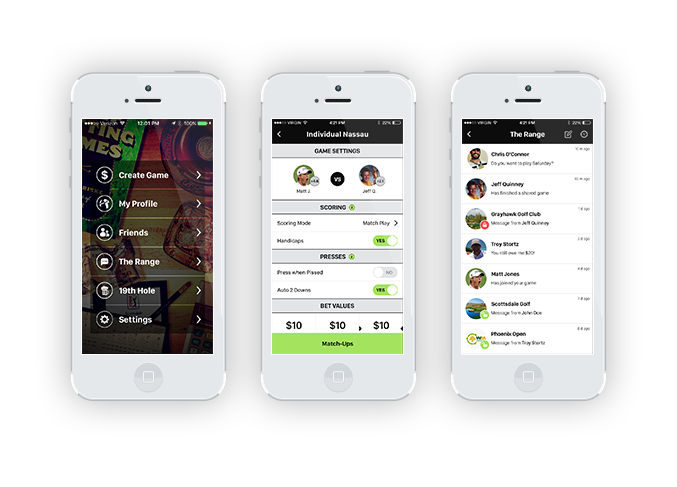 Building of custom mobile apps for iPhone, iPad and Android