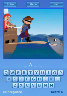 New iPhone App: Kinder Hangman