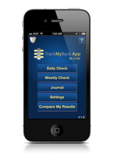 TrackMyBack app