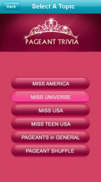 Pageant Trivia