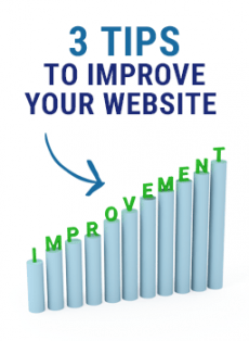 3 Tips to Improve Your Website