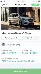 LimoDad Limousine Ridesharing App